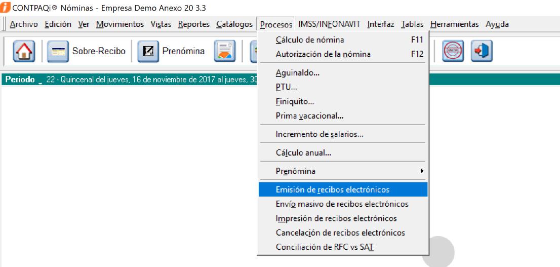 Timbrado de nómina con Anexo 20 versión 3.3