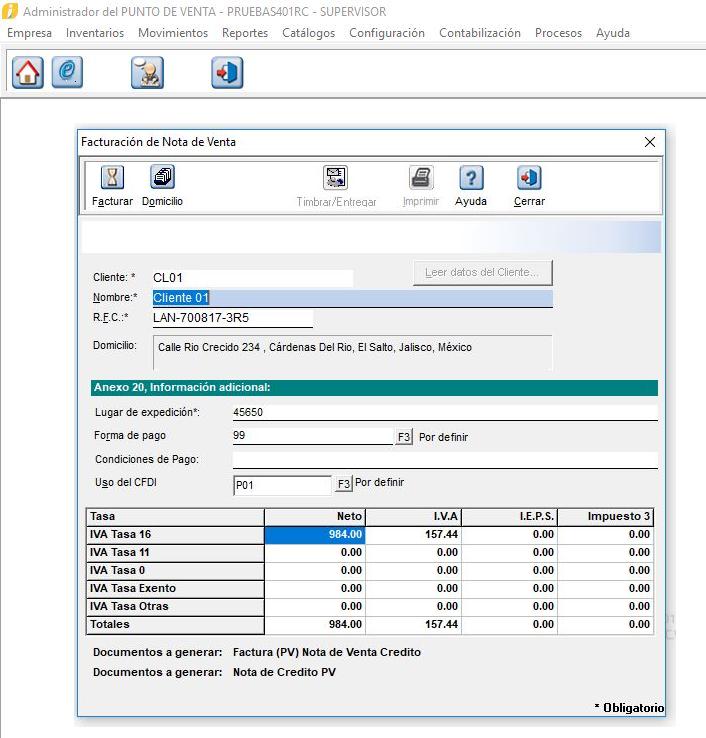 ee7ac35c8b5b Generación de REP desde AdminPAQ® o Factura electrónica