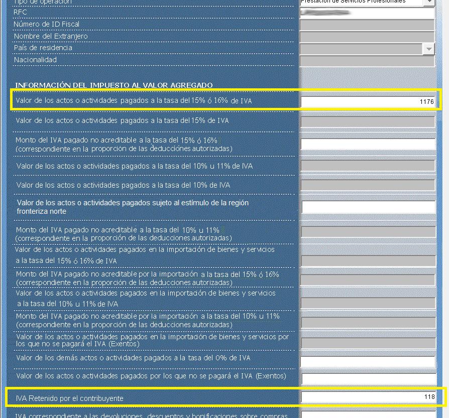 Declaración Informativa De Operaciones Con Terceros Diot